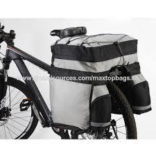 China <b>60l capacity bicycle</b> pannier bags, made of nylon, sized 50*48 ...