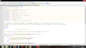make biodata using array variable on php set tea am both do blog ok here s about my example im using the old project of my biodata if you having it too change only the variable the screenshot of code