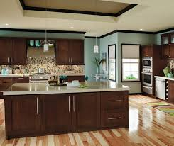 Small Picture Contemporary Cherry Kitchen Cabinets Decora Cabinetry