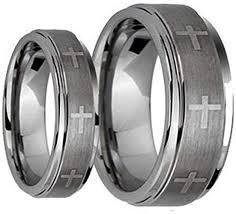 <b>Fashion</b> Month Womens 4mm <b>Tungsten</b> Carbide White <b>Ring</b> ...