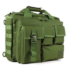 GES Multifunction Mens <b>Outdoor Tactical Nylon</b> Shoulder Laptop ...