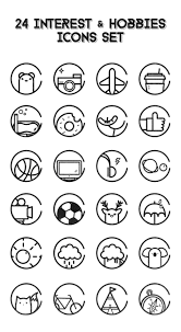 social media icons black circle rings business card 24 interest n hobbies icons the icons would be debut later please wait