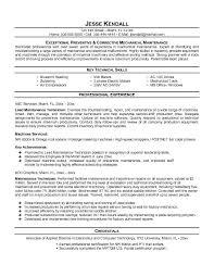 oil technician resume   sales   technician   lewesmrsample resume  resume template maintenance technician exles with