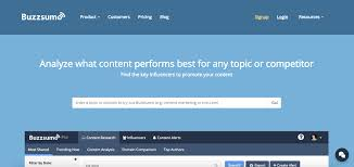 research tools and resources for presentations buzzsumo