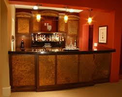 mahogany bar with acid etched panels bar furniture designs