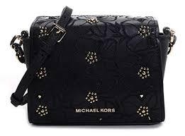 Michael Kors <b>Women's</b> Sofia <b>Small</b> Perforated <b>Floral</b> Studded ...