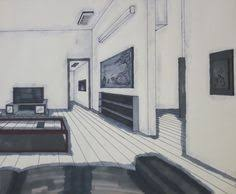 perspective drawings living room