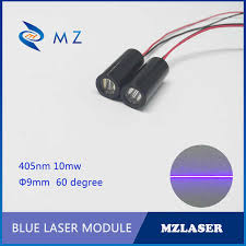 9mm 405nm 10mw <b>Industrial</b> grade APC driven blue line <b>laser</b> module