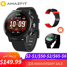 Acheter 5 $ COUPON Huami <b>Amazfit Stratos</b> Smart <b>Pace</b> 2 Montre ...