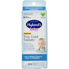 Hylands <b>Baby Tiny Cold</b> Tablets, 125 Ct - Walmart.com - Walmart.com