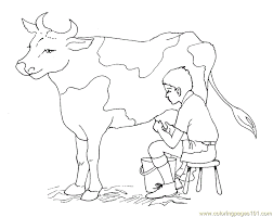 Small Picture Cute Cow Coloring Pages Getcoloringpages Com Coloring Coloring Pages