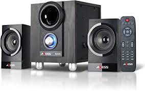 AXESS MSBT3907 2.1 Bluetooth Micro Sound System ... - Amazon.com