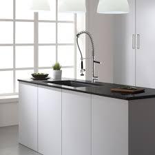 black appliance matte seamless kitchen: kraus  inch undermount single bowl black onyx granite kitchen sink