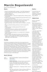 senior architect resume samples   visualcv resume samples databasetechnical architect   senior architectural technician resume samples