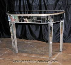 art deco mirrored console table mirror furniture art deco mirrored furniture