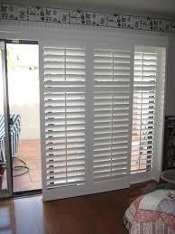 shade patio door blinds: white aluminium venetian blinds with patio door and shades f plus
