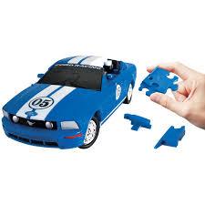 Ford Mustang <b>blue</b> | 3D пазл <b>Eureka</b>: Купить по цене 539 грн в ...
