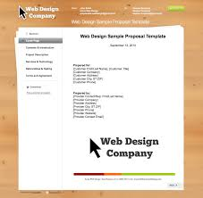 business proposal templates the proposable blog best web design sample template image