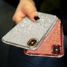 iPhone XS Max XR 10 X 7 8 Plus 6 6s <b>Diamond Sexy</b> Soft ...