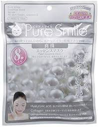 Japan Sun Smile Pure Smile Essence Face Mask ... - Amazon.com