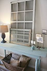 shabby chic entryway antique dresser framed leaning mirror shabby chic