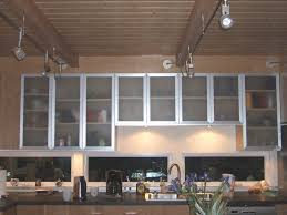 kitchen cabinets glass doors design style: industrial kitchen style with smoked glass cabinet doors