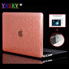 YRSKV Shine Glitter Hard <b>Laptop Case For Apple</b> Macbook Air Pro ...