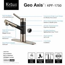 Black Pull Out Kitchen Faucet Kitchen Faucet Kraususacom