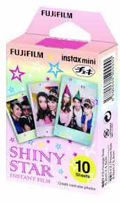 Amazon.com: <b>Fujifilm</b> Instax Mini Film <b>SHINY STAR</b>: Electronics ...