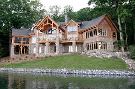 Design luxury lake house plansLuxury lake retreat   architectural designs house plan gg rustic exterior