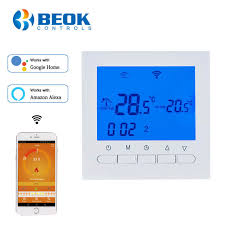 Online Shop BEOK BOT-313WIFI <b>Gas</b> Boiler Heating <b>Thermostat</b> ...