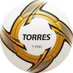 Купить <b>Мяч футбольный Torres T-Pro</b> F31899 р.5 недорого в ...