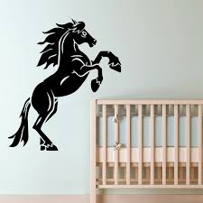 <b>Modern Horse</b> Wall Stickers Animal Lover Home Decoration ...