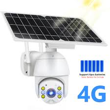 HISMAHO 1080P SIM Card 4G <b>Solar</b> Camera <b>8W Solar</b> Panel <b>WIFI</b> ...