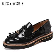 <b>E TOY WORD</b> oxfords for women Spring Autumn Women Shoes ...