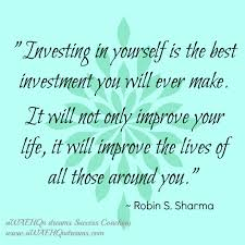 invest in yourself for success quote sharma investing in yourself