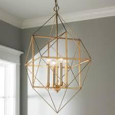 geometric gold silver