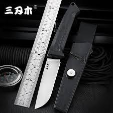 <b>Sanrenmu</b> S708 фиксированный <b>нож</b> 12C27 лезвие PA66 + GF ...