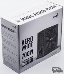 Обзор <b>блока питания Aerocool</b> AERO WHITE 700W: «белый ...