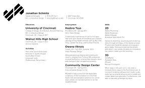 resume jonathan schmitz print resume