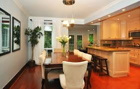 open kitchen and dining room designs