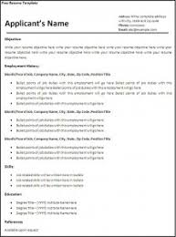 resume template  the latest trend in resume format microsoft word    employment history resume format microsoft word skills information