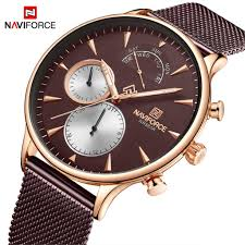 <b>NAVIFORCE Mens</b> Watches <b>Top Brand</b> Luxury Watch <b>Men</b> Casual ...