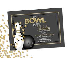 bowling party invite company holiday party invitation bowling party holiday bowling party company holiday party gold gray white printable