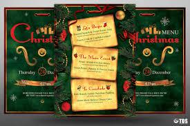 christmas eve menu template psd v 2 tds psd flyer templates christmas eve menu template psd v 2