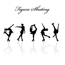 Image result for figure skater silhouette