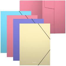 "<b>Папка</b> на резинке <b>Erich Krause</b> ""<b>Pastel</b>"" А4, 600мкм, ассорти ..."