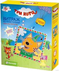 """<b>Картина</b> из <b>пластилина</b> """"Три кота. Компот"""" <b>Фантазёр</b> : купить в ..."""