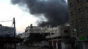 الجيش الاسرائيلي يشن غارة على قطاع غزة