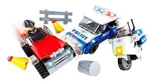 Купить <b>конструктор</b> пластиковый <b>Ausini</b> Полиция. <b>Погоня</b> в ...